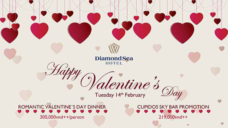Celebrate A Memorable Valentine S Day At Diamond Sea Hotel