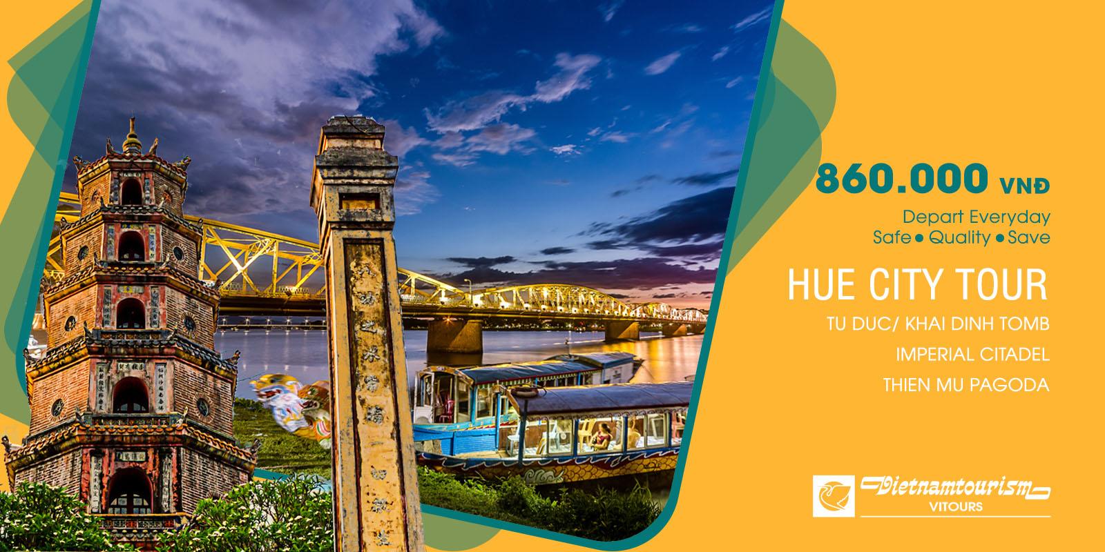 Vitours 5% OFF Hue City Tour 1