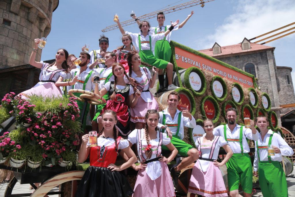 Lễ hội Bia B'estival 2018 tại Sun World Bà Nà Hills 1