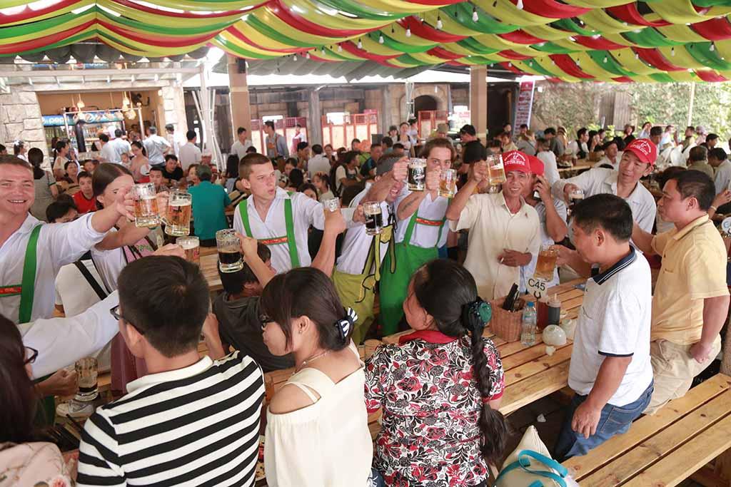 Lễ hội Bia B'estival 2018 tại Sun World Bà Nà Hills 10