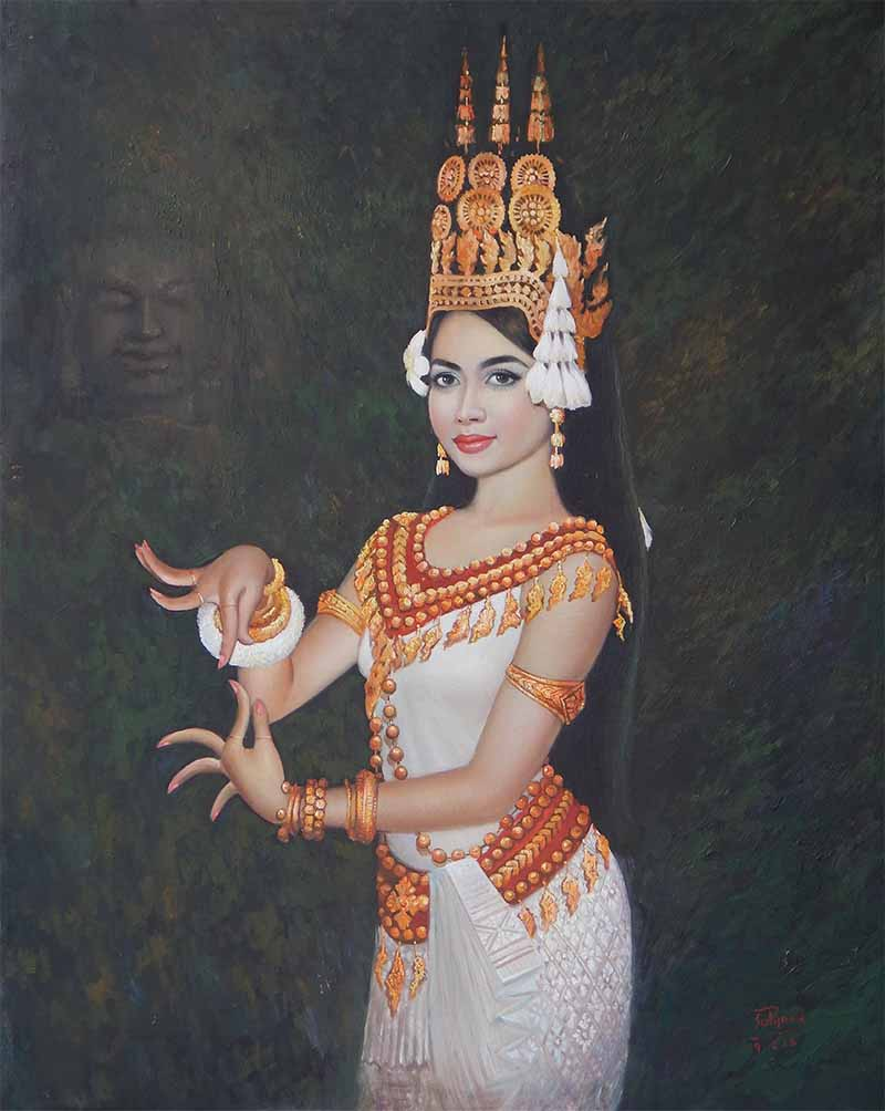 khmer apsara pictures - 800×1004