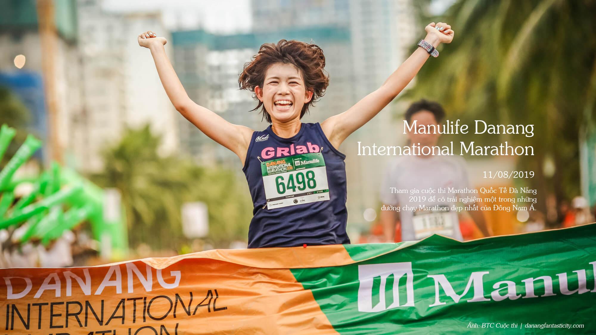 Top sự kiện nổi bật Đà Nẵng 2019 - MANULIFE DANANG INTERNATIONAL MARATHON 2019