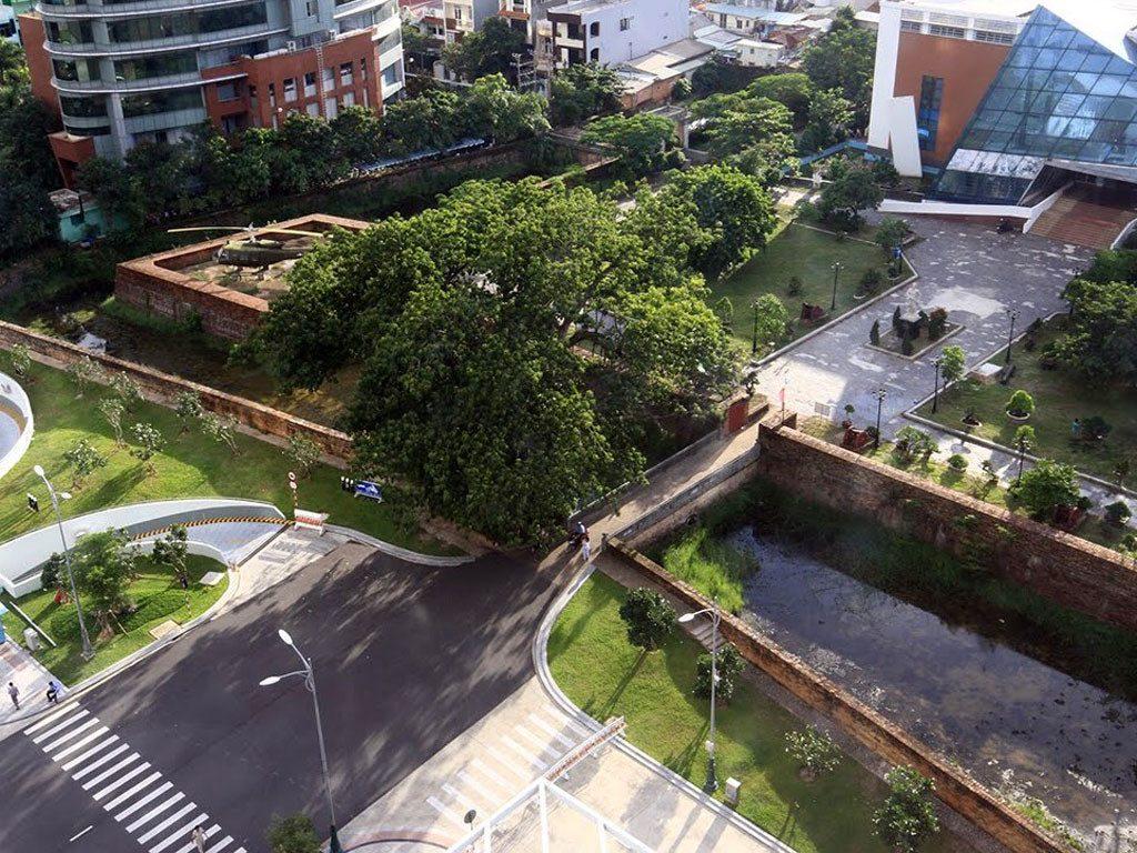 Xác định khu vực công cộng, quảng trường quanh Thành Điện Hải Đà Nẵng 1