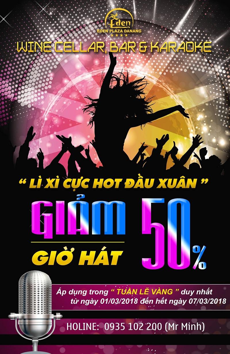 Eden Plaza Karaoke - GIẢM NGAY 50% GIỜ HÁT