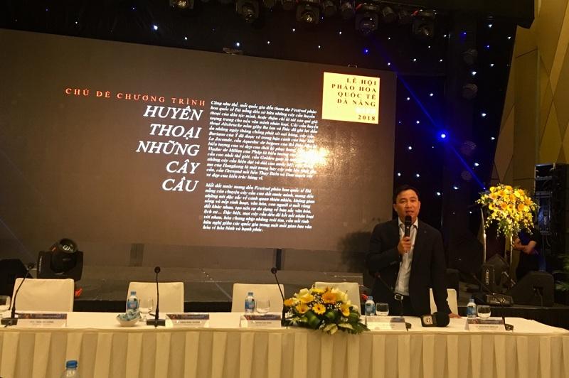 Chính thức khởi động Lễ hội pháo hoa Đà Nẵng 2018 với nhiều đổi mới