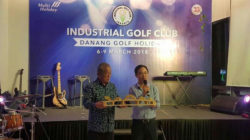 Đón đoàn Indonesia tham dự giải Golf tại Đà Nẵng