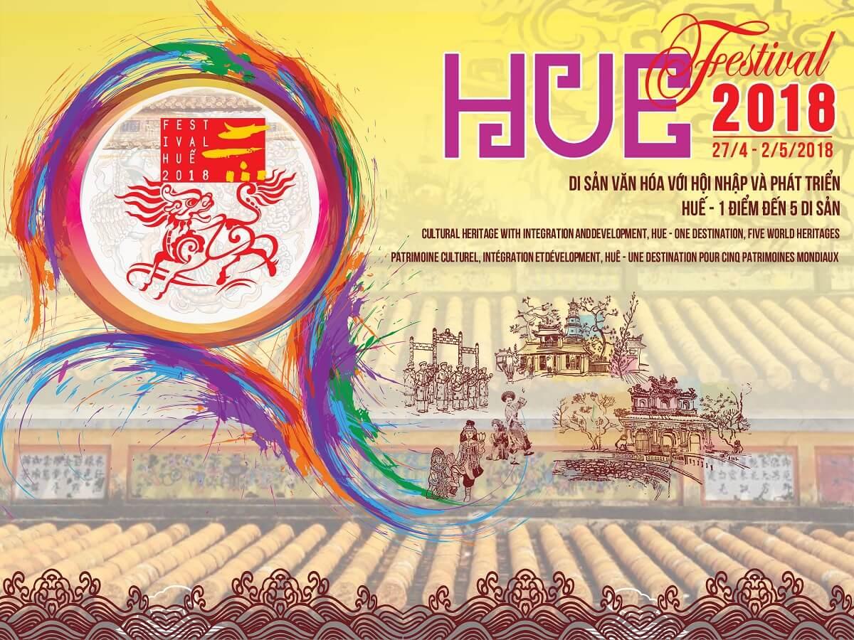 """Festival Huế 2018: """"Di sản Văn hóa với hội nhập và phát triển Huế - 1 điểm đến 5 di sản"""" 1"""