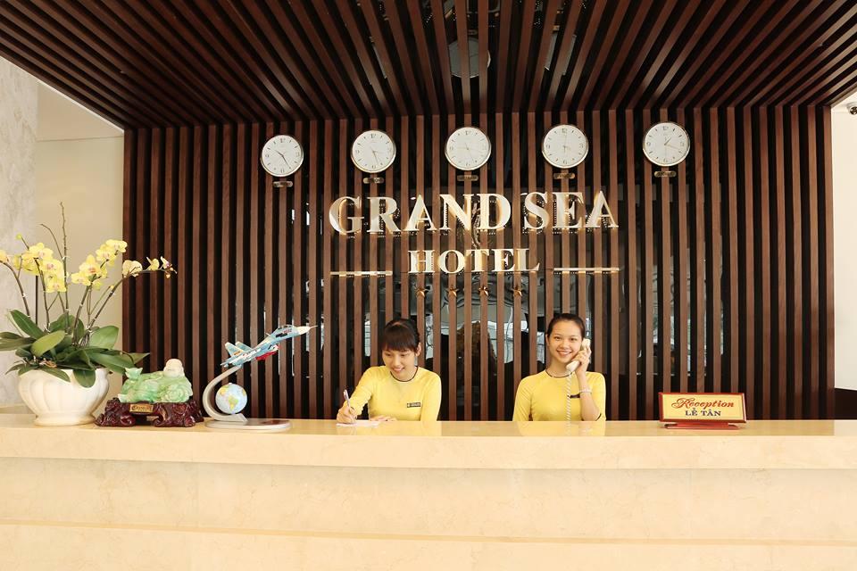 Grand Sea Hotel tuyển dụng tháng 03.2018