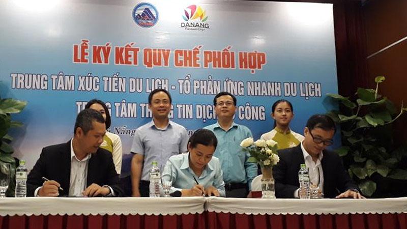 Lễ ký kết quy chế phối hợp nhằm thống nhất số điện thoại đường dây nóng Hỗ trợ Du khách