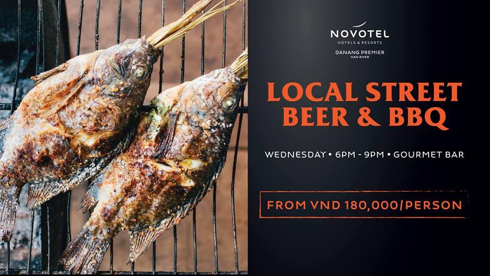Novotel Danang Premier Han River – Thứ tư  rộn ràng cùng tiệc bia và đồ nướng đường phố
