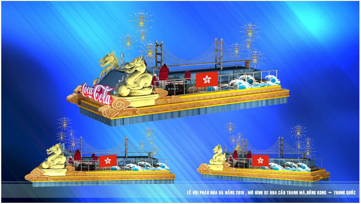 12 cây cầu di động trong Lễ hội pháo hoa Quốc tế Đà Nẵng 2018 8