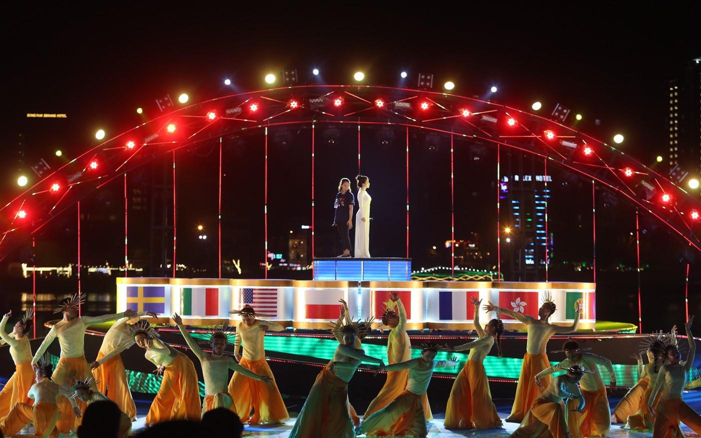 Lễ hội pháo hoa Quốc tế Đà Nẵng 2018 đã sẵn sàng cho đêm khai mạc 1