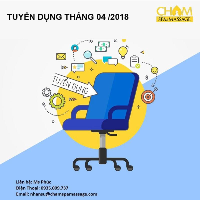Cham Spa & Massage Đà Nẵng - Tuyển dụng Giám đốc Kinh doanh