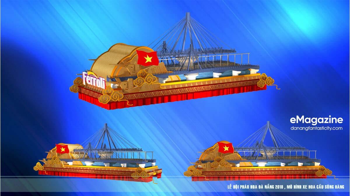 12 cây cầu di động trong Lễ hội pháo hoa Quốc tế Đà Nẵng 2018 1