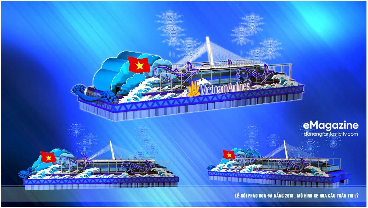 12 cây cầu di động trong Lễ hội pháo hoa Quốc tế Đà Nẵng 2018 3