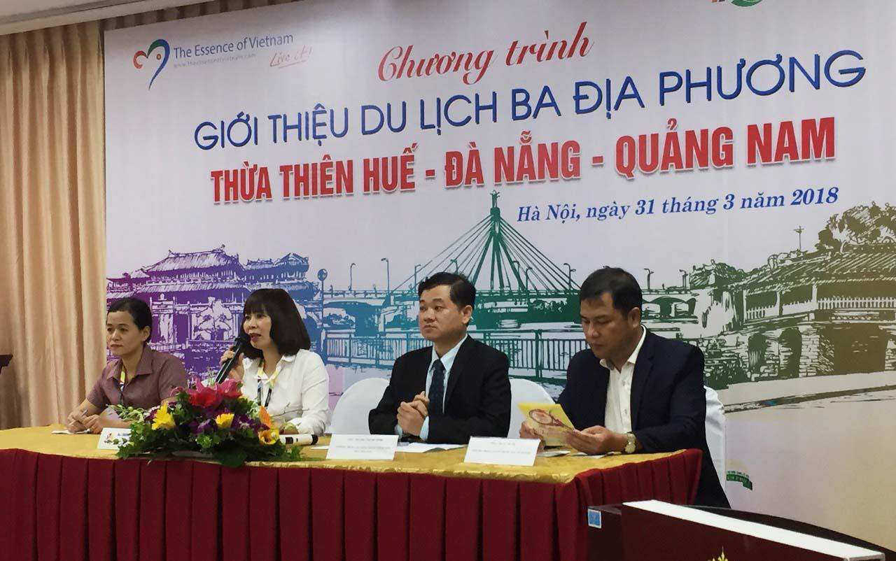 Chương trình giới thiệu du lịch 03 địa phương Huế - Quảng Nam - Đà Nẵng tại Hà Nội 3