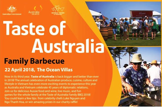 Taste of Australia Da Nang BBQ