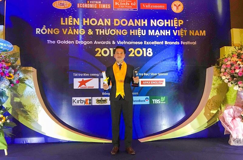 Furama Resort Đà Nẵng lần thứ 8 nhận giải thưởng Rồng Vàng