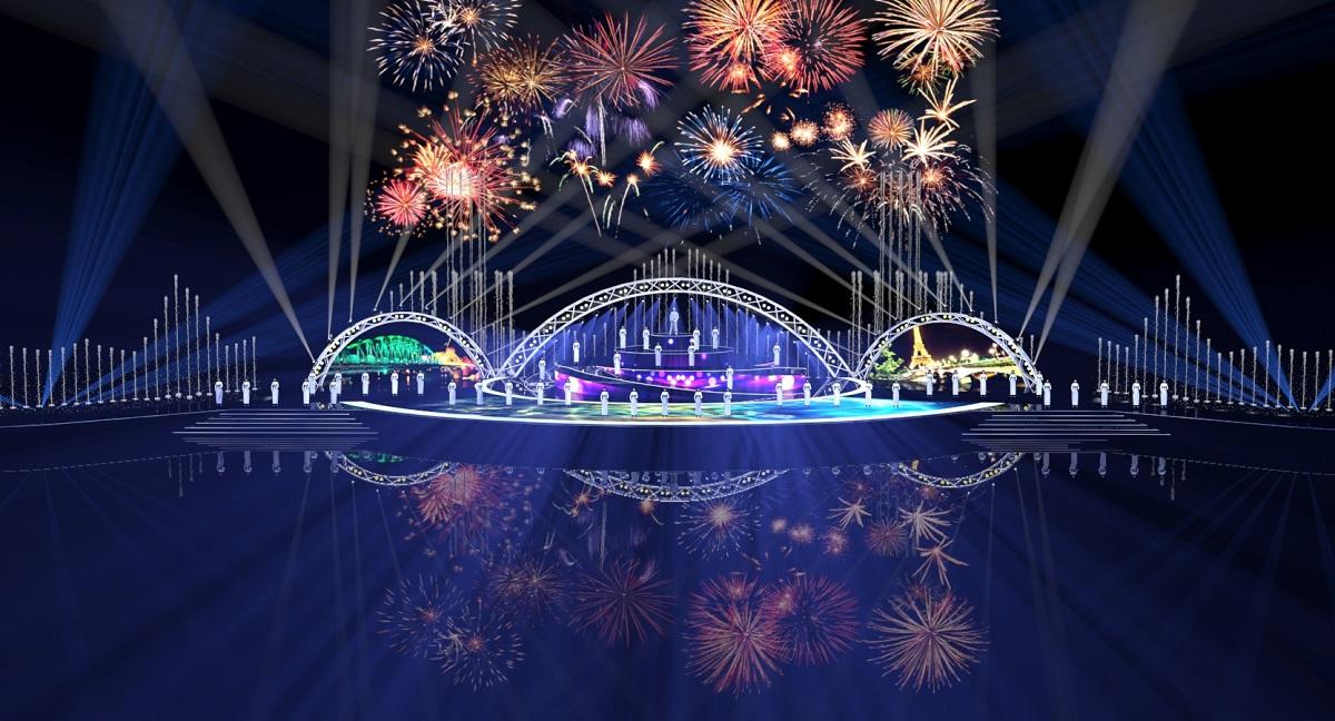 Hé lộ kịch bản và sân khấu đêm khai mạc Lễ hội pháo hoa Quốc tế Đà Nẵng 8