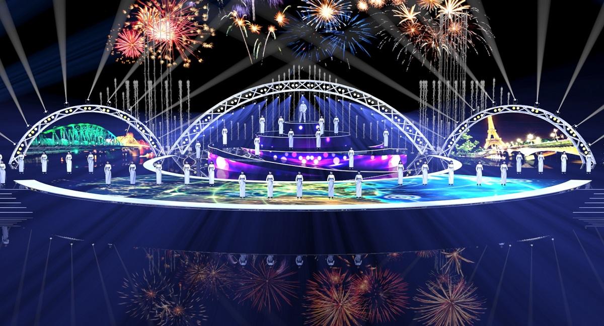 Hé lộ kịch bản và sân khấu đêm khai mạc Lễ hội pháo hoa Quốc tế Đà Nẵng 9