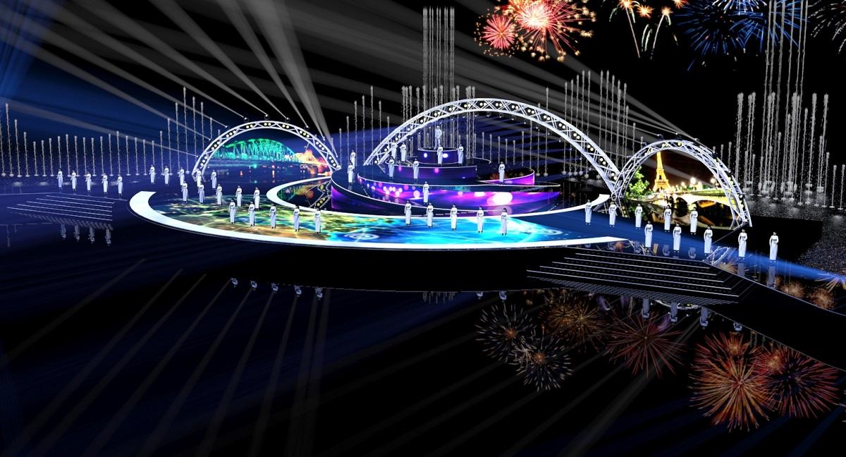 Hé lộ kịch bản và sân khấu đêm khai mạc Lễ hội pháo hoa Quốc tế Đà Nẵng 11