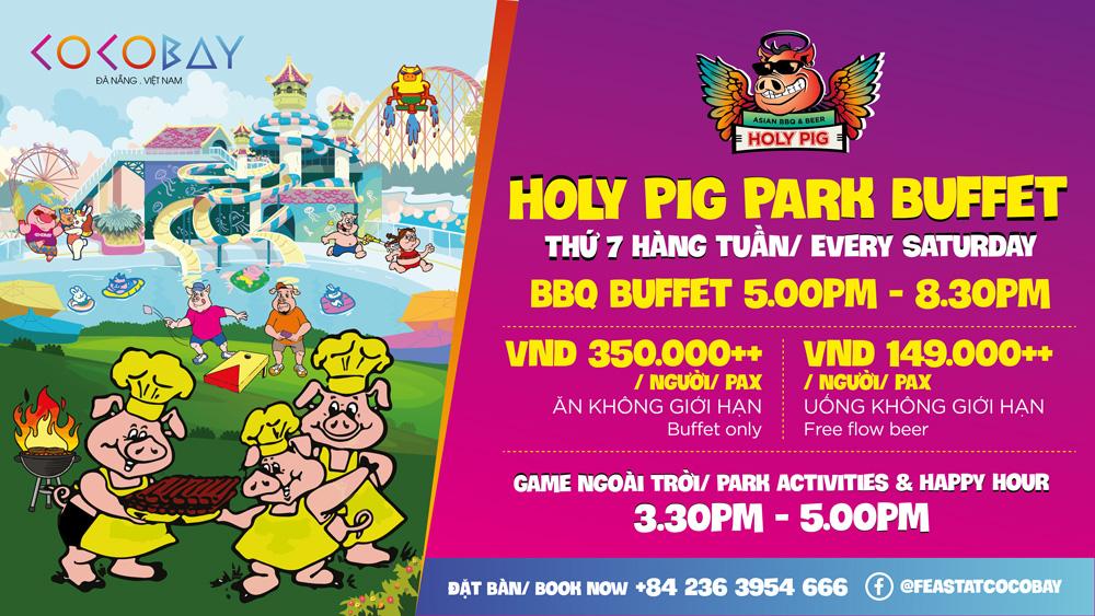 Holy Pig Park Buffet at Cocobay Danang