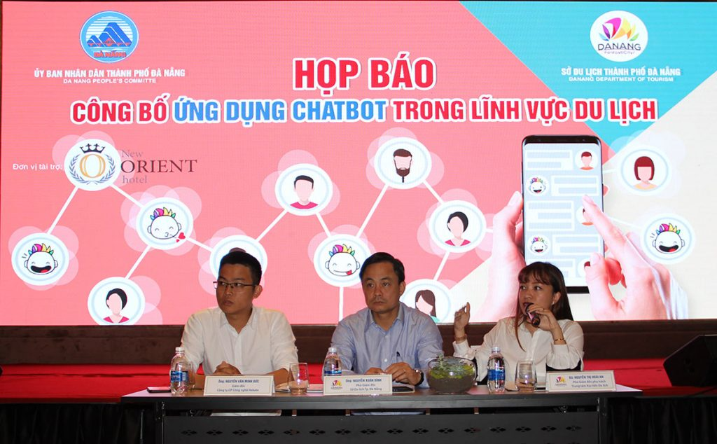 Press Release: Launching Chatbot Application in tourism industry 2