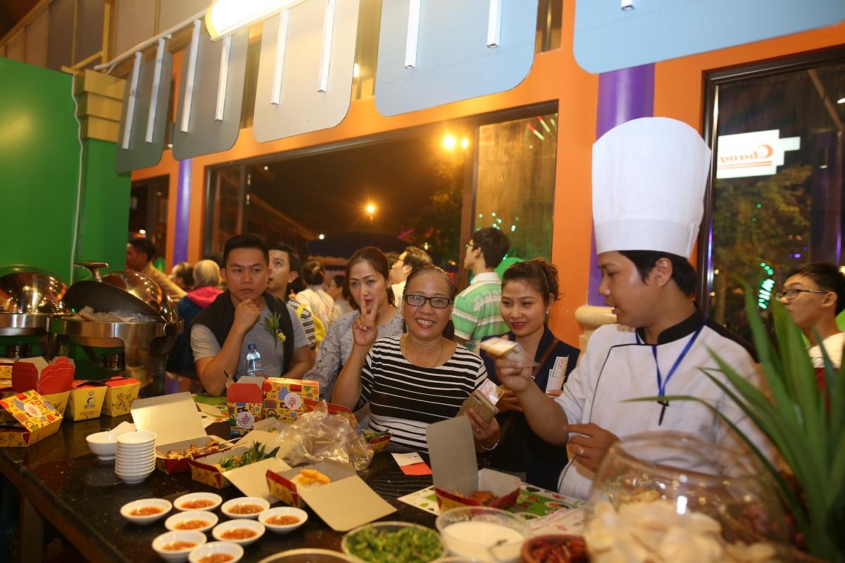 """Không gian ẩm thực """"Bốn mùa hương sắc"""" tại Sun World Danang Wonders 1"""