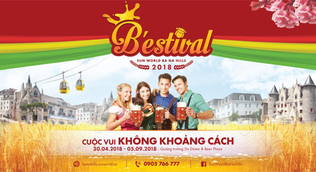 Lễ hội Bia B'estival 2018 tại Sun World Bà Nà Hills