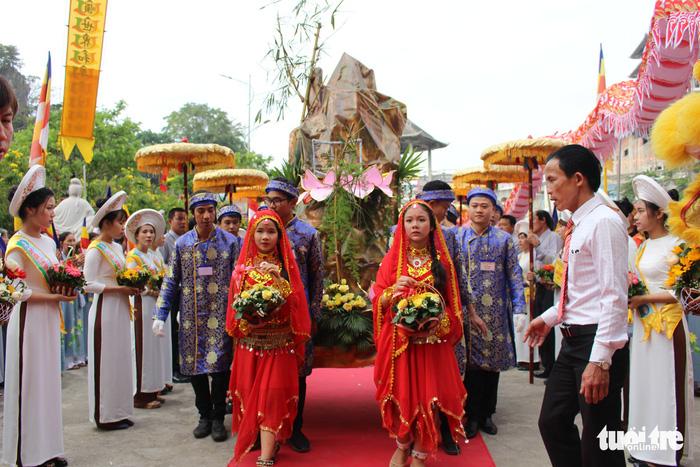 Lễ vía Đức Bồ Tát ở lễ hội Quán Thế Âm Đà Nẵng 2