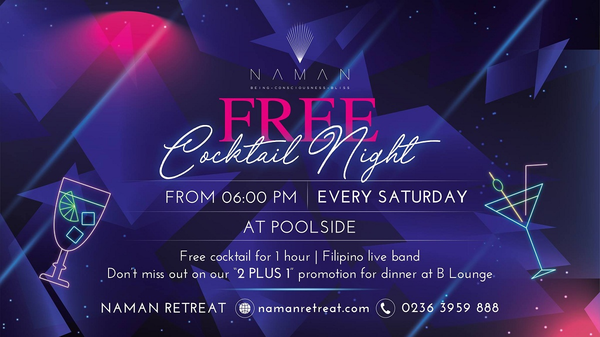 Naman Retreat – Free Cocktail Night