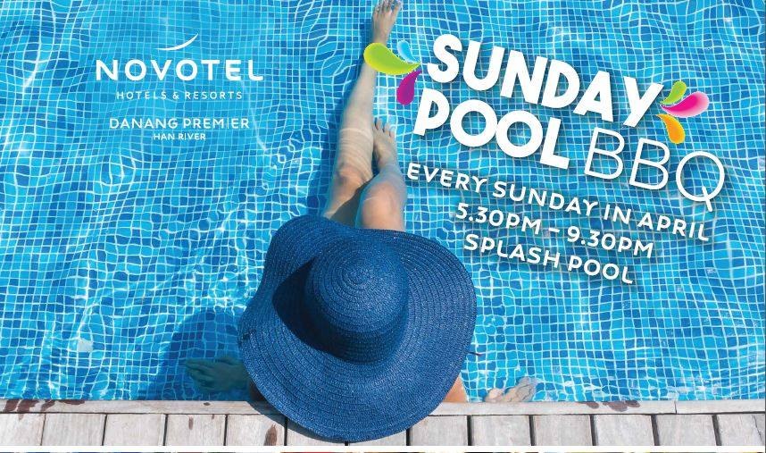 Sunday Pool BBQ - Every Sunday in April