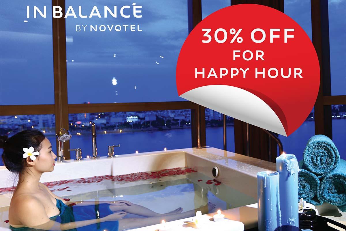 Ưu đãi 30% cho tất cả dịch vụ Spa 90 và 120 phút tại InBalance Spa