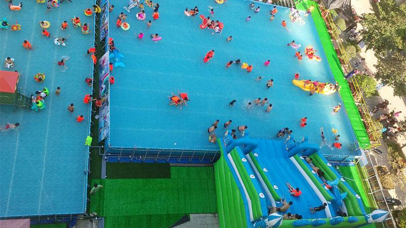 Khai trương công viên nước di động tại Trung tâm Hội chợ Triển lãm Đà Nẵng