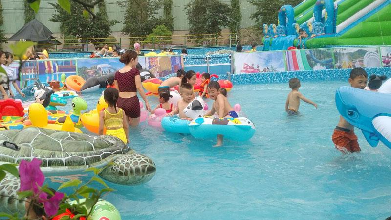 Khai trương công viên nước di động tại Trung tâm Hội chợ Triển lãm Đà Nẵng 3