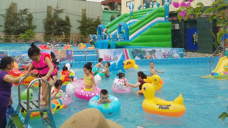 Khai trương công viên nước di động tại Trung tâm Hội chợ Triển lãm Đà Nẵng 4