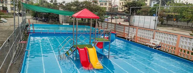 Khai trương công viên nước di động tại Trung tâm Hội chợ Triển lãm Đà Nẵng 1