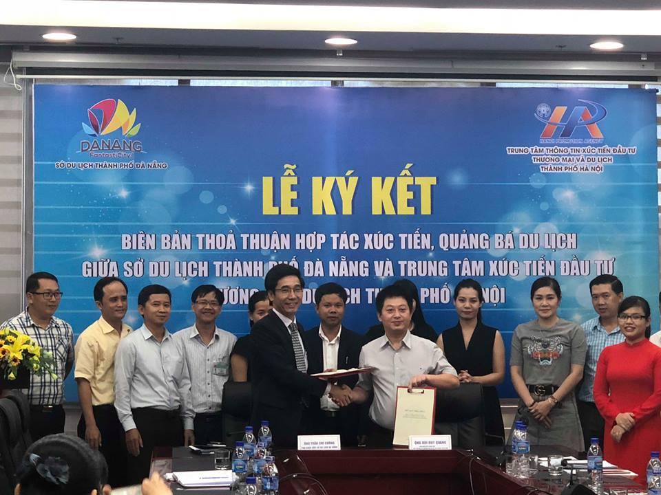 Ký kết biên bản thoả thuận hợp tác xúc tiến, quảng bá du lịch giữa Đà Nẵng và Hà Nội 3