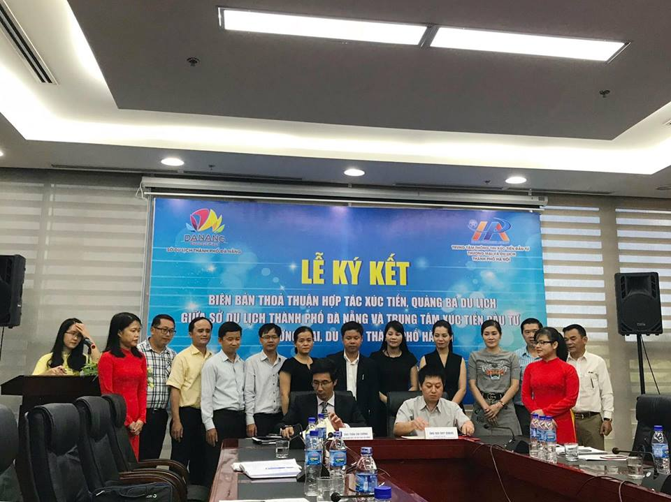 Ký kết biên bản thoả thuận hợp tác xúc tiến, quảng bá du lịch giữa Đà Nẵng và Hà Nội