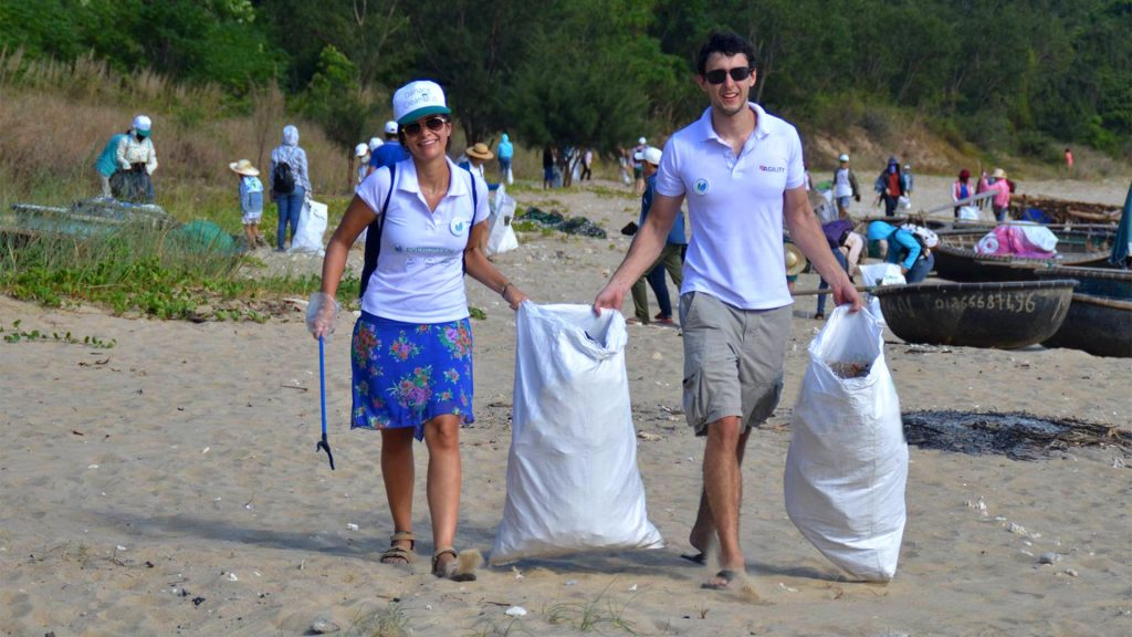 Ngày hội 'Đổi rác lấy vở' trong khuôn khổ Chương trình Đà Nẵng - Điểm hẹn mùa hè 2018