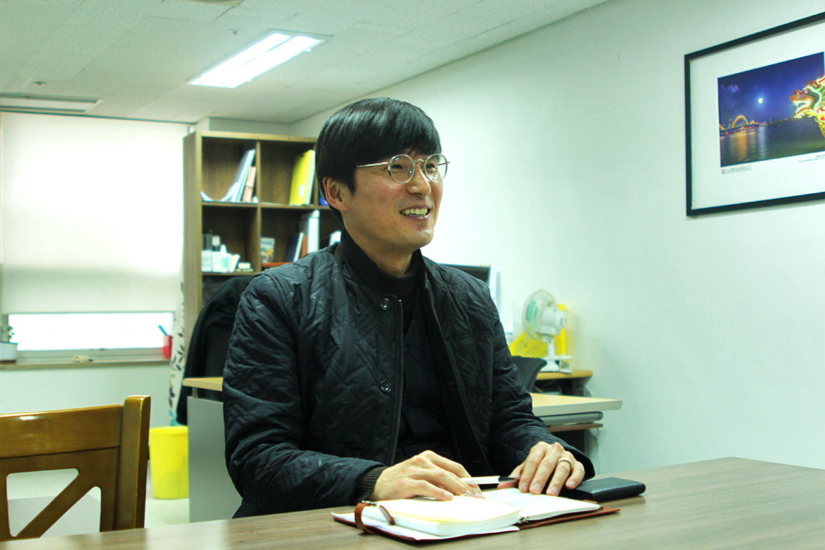 Mr. Noh Tae Ho - the official representative of Danang Department of Tourism in Korea 2