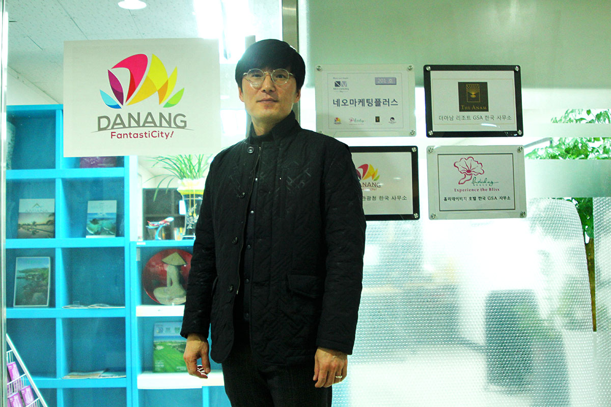 Mr. Noh Tae Ho - the official representative of Danang Department of Tourism in Korea