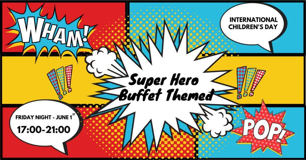 Pullman Danang Beach Resort: SuperHero Buffet Dinner