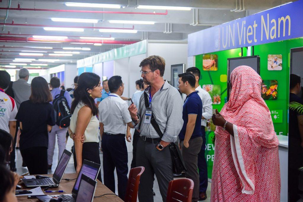 Cung Hội nghị Quốc tế Ariyana bắt đầu những phiên họp đầu tiên trong khuôn khổ Đại Hội đồng Quỹ môi trường toàn cầu GEF6 2
