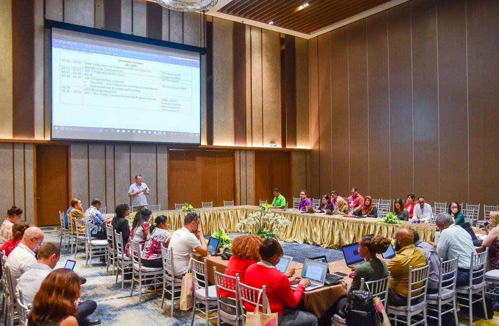 Cung Hội nghị Quốc tế Ariyana bắt đầu những phiên họp đầu tiên trong khuôn khổ Đại Hội đồng Quỹ môi trường toàn cầu GEF6 3