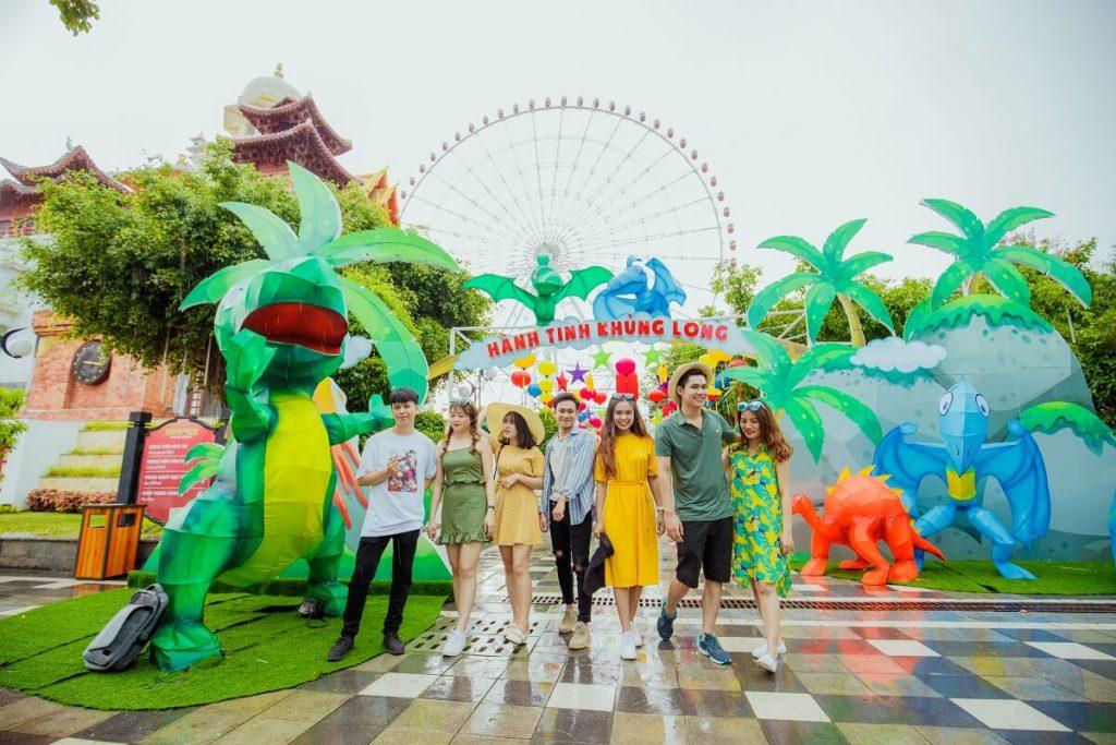 Lạc vào xứ sở thần tiên trong lễ hội đèn lồng 2018 tại Sun World Danang Wonders 7