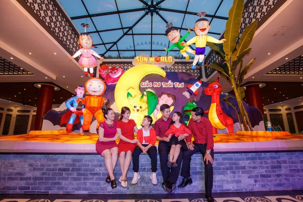 Lạc vào xứ sở thần tiên trong lễ hội đèn lồng 2018 tại Sun World Danang Wonders 4
