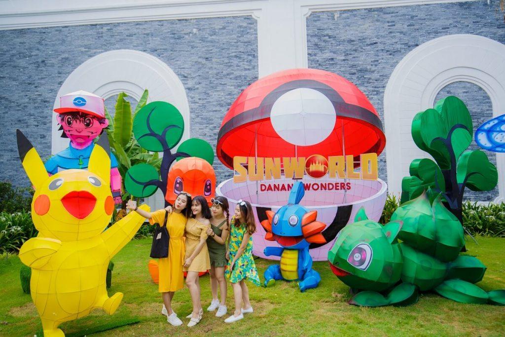 Lạc vào xứ sở thần tiên trong lễ hội đèn lồng 2018 tại Sun World Danang Wonders 9