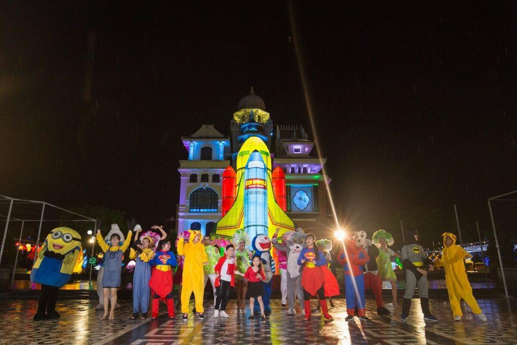 Lạc vào xứ sở thần tiên trong lễ hội đèn lồng 2018 tại Sun World Danang Wonders 10