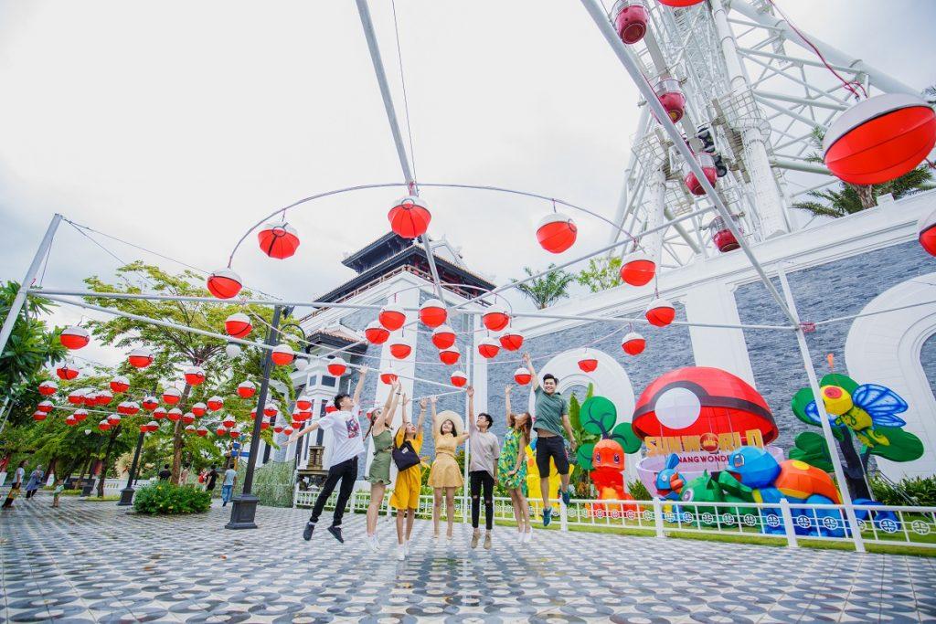 Lạc vào xứ sở thần tiên trong lễ hội đèn lồng 2018 tại Sun World Danang Wonders